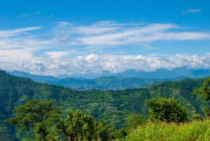 Landscape of Nepal.
